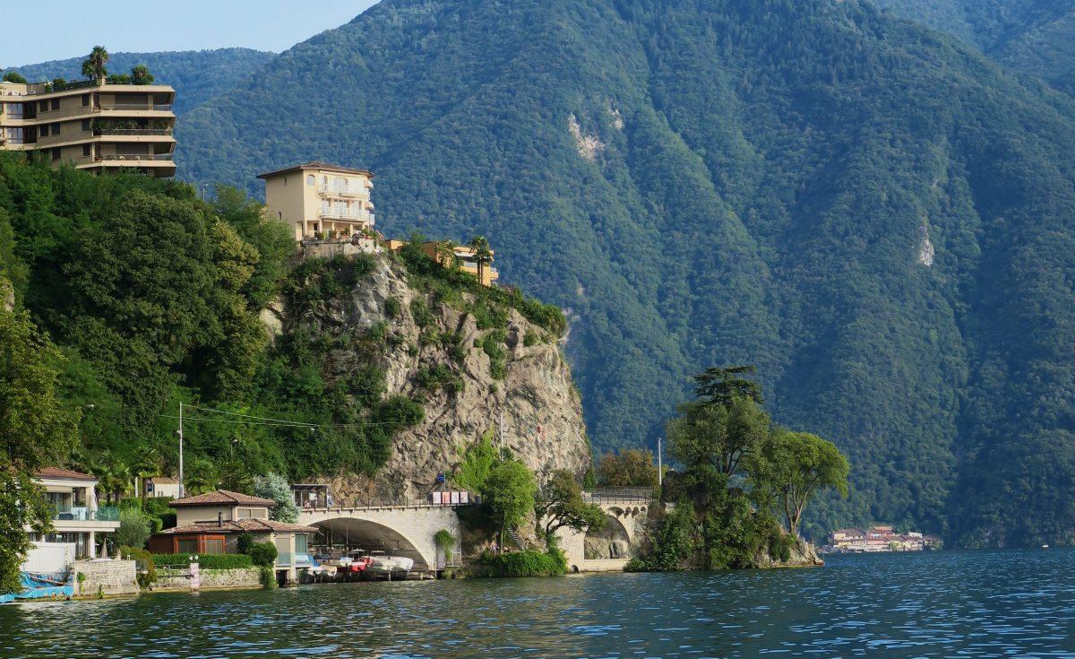 Découverte du petit côté italien d'une partie de la Suisse: Ticino, Lugano
